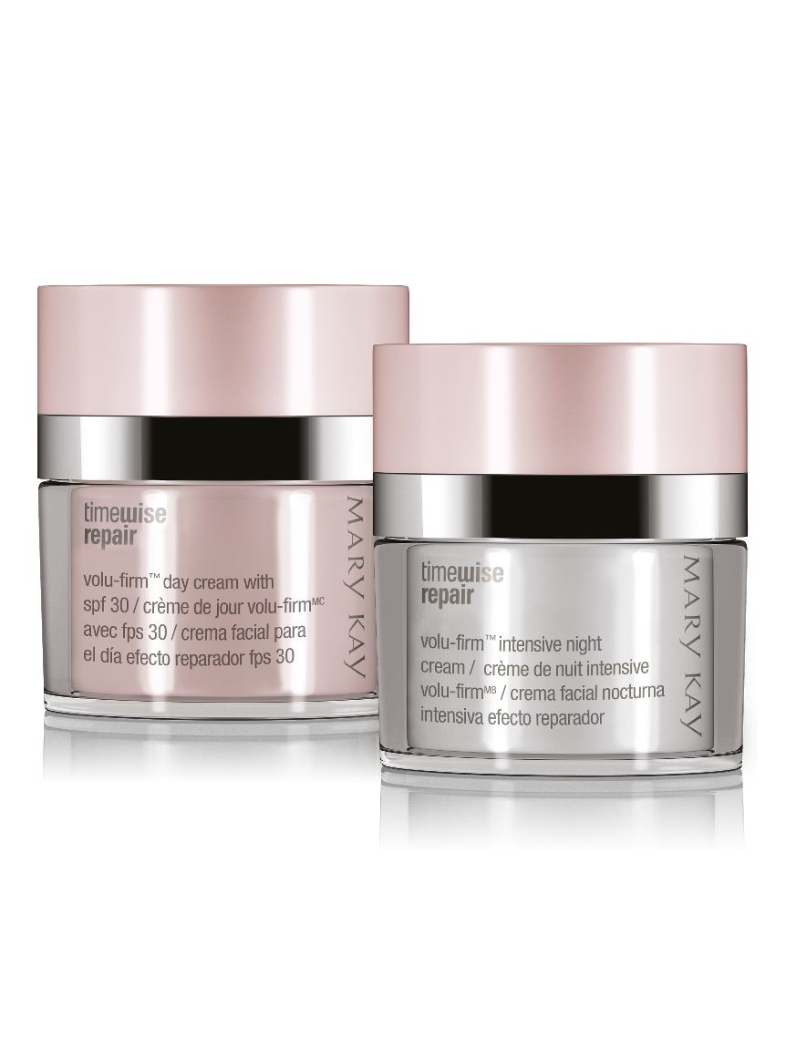 Kit Creme Diurno e Noturno Volu-Firm TimeWise Repair®   Mary Kay 48ea3cd183