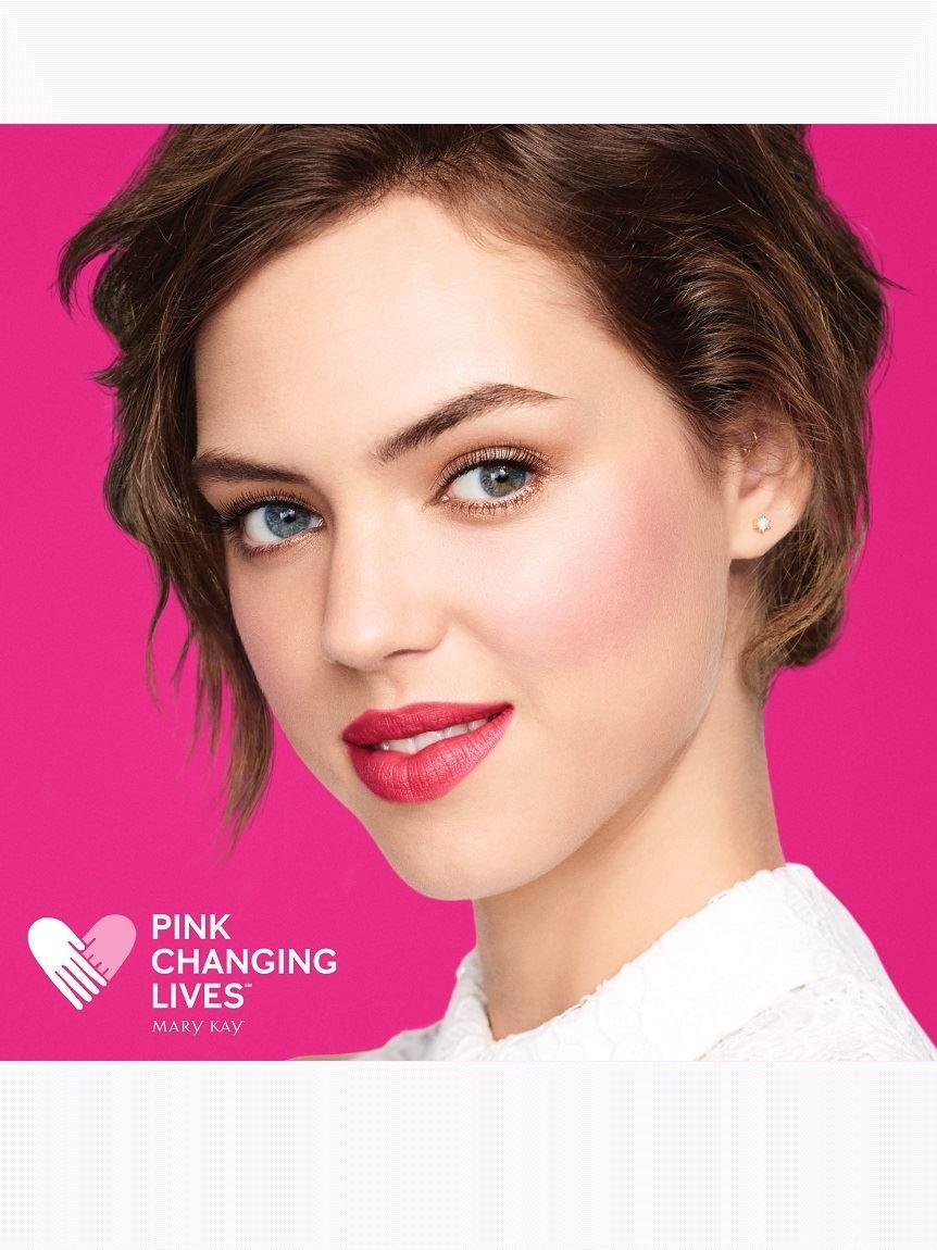 Mary Kay Gel Semi Matte Lipstick Powerful Pink Jill Beauty Lip 11 Flawless Maroon